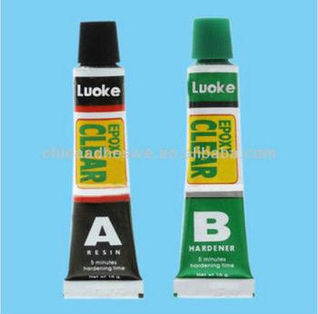 auto spare AB Glue:5 Minutes Rapid Clear glue,two parts Epoxy Adhesive Glue