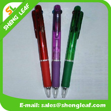 Multi color pen plastic gel pen