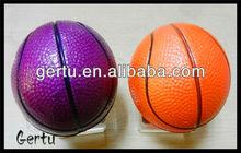 solid rubber basketball for kids,sponge balls