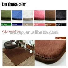 polyester shag pu foam carpet underlay foot massage