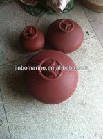 Marine Red Mushroom Ventilator with Cowl