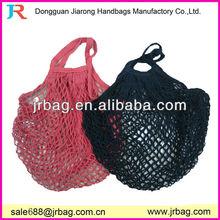 cheap reusable cotton net shopping bags