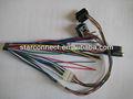 enchufe de cc jack y montaje de cable