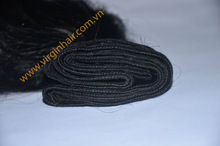 Smart and Fascinating 8'' - 32'' Straight Virgin Double Drawn Weft Hair With Glue