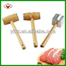 wooden kitchen steak tenderizer with popular sales