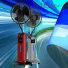 outdoor solar fan oscillating outdoor misting fan