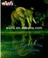 Publicidad inflable elefante de dibujos animados/animal/modelo gigante de elefante