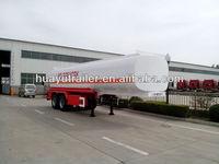 30000L 40000L 50000L gasoline / petrol 2 compartment tank semi trailer