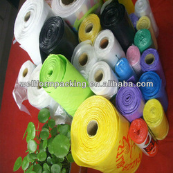 Roll Bag!! China Environmentally Green Biodegradable mini trash bags on roll for trash