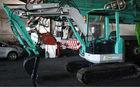 Komatsu PC50UU excavator backhoe