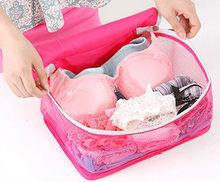 Mesh Folding Bra Storage Bag For Travel