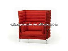 2013 new design alcove high back armchair sofa
