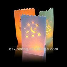 Outdoor LED Candle Decoration Paper Lantern Wholesale Wedding Door Gift