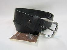 Moose leather belt