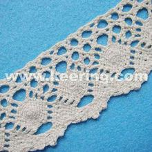 Fashion cotton eyelet lace trim WLC-019