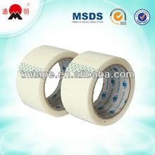 high viscosity sticky white bopp packing tape