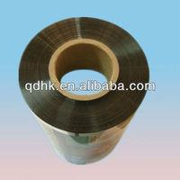 Transparent color printing plastic film