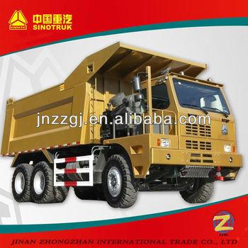 Sinotruk 6X4 Howo Mining Dump Truck