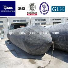 Dia 1.5m x20m marine anti explosion boat rubber airbag factory