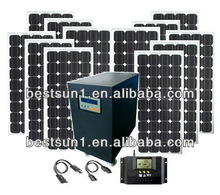 MPPT high efficiency 15000w foldable solar panel