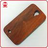High Quality Dark Walnut Natual Bamboo Hard Real Wood Phone Case for Samsung Galaxy S4