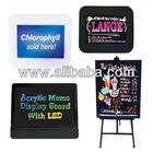 Acrylic Memo Display Board with LED
