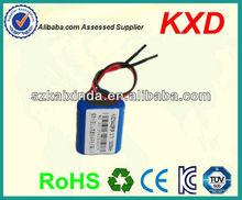 rechargeable li-ion batteries 3.7v 4.2v 1500mah 14430 3p