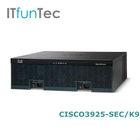 Original New Cisco 3900 Series Router CISCO3925-SEC/K9 cisco router