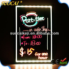 New Invention 2014 Magnetic Advertising Display Stand, advertising led light board