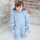 DB277 dave bella autumn winter infant clothes baby one-piece baby sleeping wear baby romper