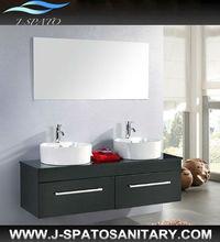 ultimo mobili per la casa al coperto attaccatura di parete mobiletto del bagno moderno con grande specchio e cassetto