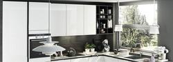 Home depot/Kitchen Cabinet Color Combinations/Glass/Mdf Door