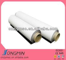 different size paste PVC white soft rubber magnet