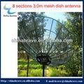 Più popolari eccellente qualità 3.0m maglia antenna parabolica c antenna parabolica band/antenna