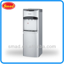 Hot and cold drinking machine with cabinet/refrigerator