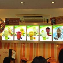china wholesale Led lighted Menu Board for Fast Food Store,Led menu light box for Restaurant manufacturer