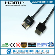 Slim HDMI Support 1080P Ethernet