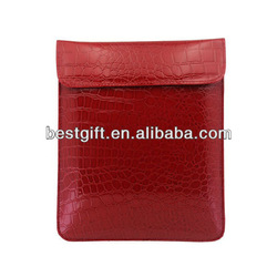 Cheap wholesale PU leather sleeve case for ipad mini sleeves cases