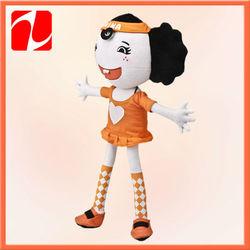 Plush craft little models girl dolls