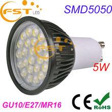 Easy light spot installation 5W SMD5050 85-265V 450lm 24pcs