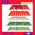 con aislamiento de color corrugado placa de material para techos
