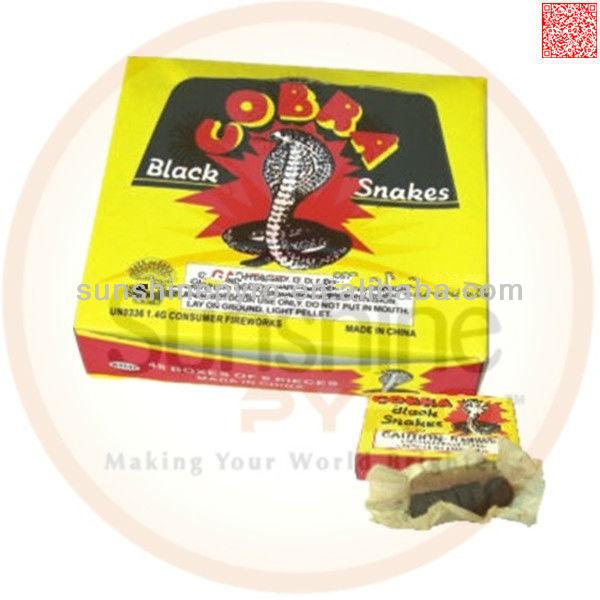 Cobra Black Snakes Fireworks Novelty Fireworks,black Snakes