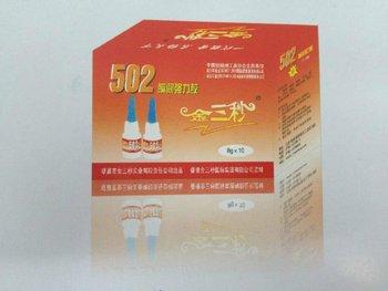 Brand New ! 502 Liquid Adhesive , Cyanoacrylate Adhesive