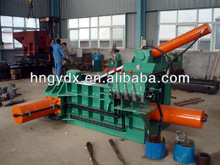 Automatic hydraulic metal baler machine