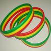 Rwanda flag national day silicone bracelets wristbands promotional gifts
