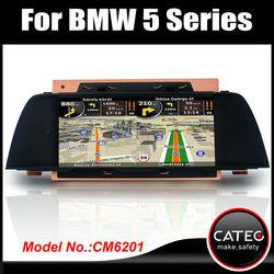 "10"" in dash double din auto radio dvd cd player navi head unit for BMW 535i"