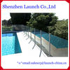 extruded aluminum handrail post for swimming pool fence