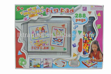 ABC-183737 Pin Pad , beads art , beads toy