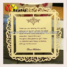 best sell yoyo new design various colors and custom sizes handmade wedding cardboard pop up greeting card and thank you card