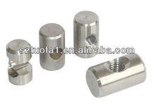 precision cnc aluminum bullet button cnc machining